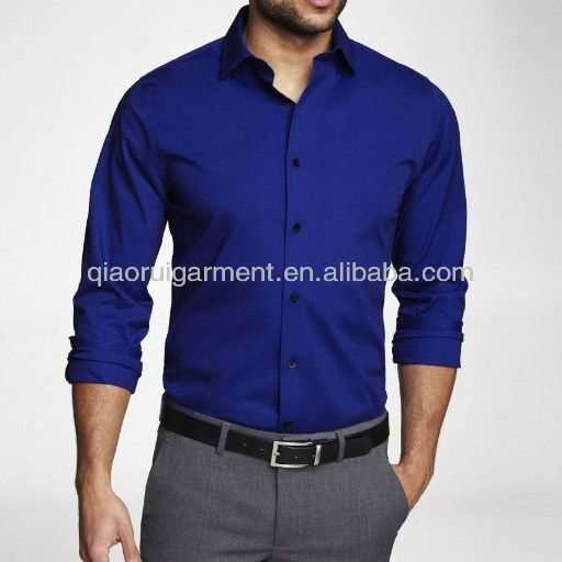 How To Wear Royal Blue Shirt
