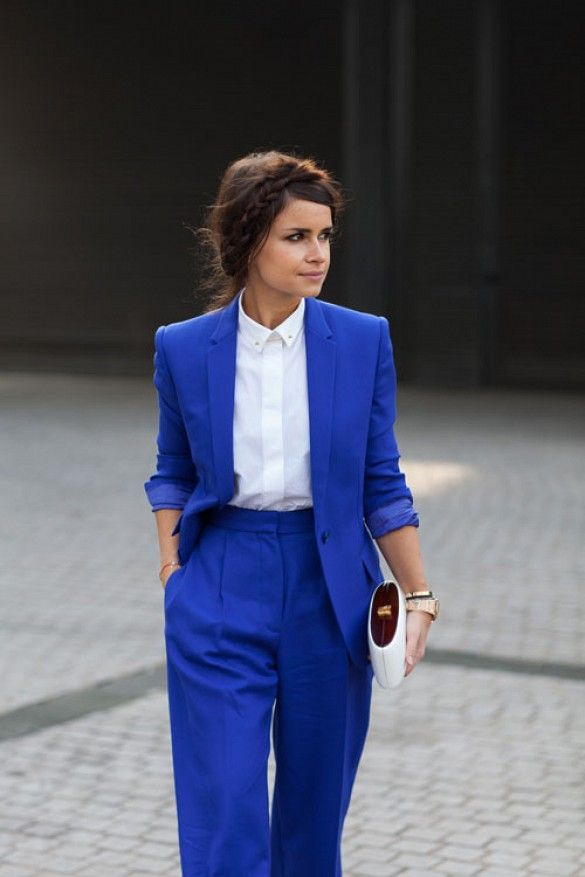 How To Wear Royal Blue
