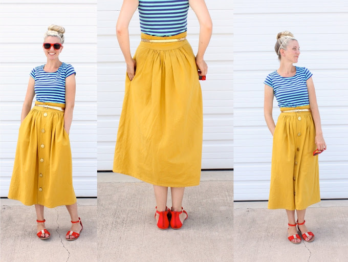How To Wear Skirts With Pockets