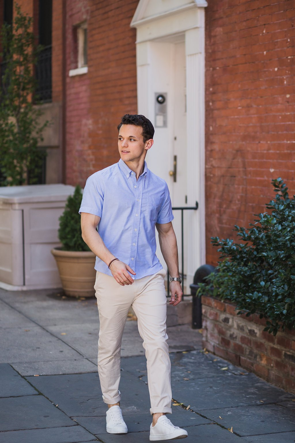 How To Wear Slim Fit Chinos