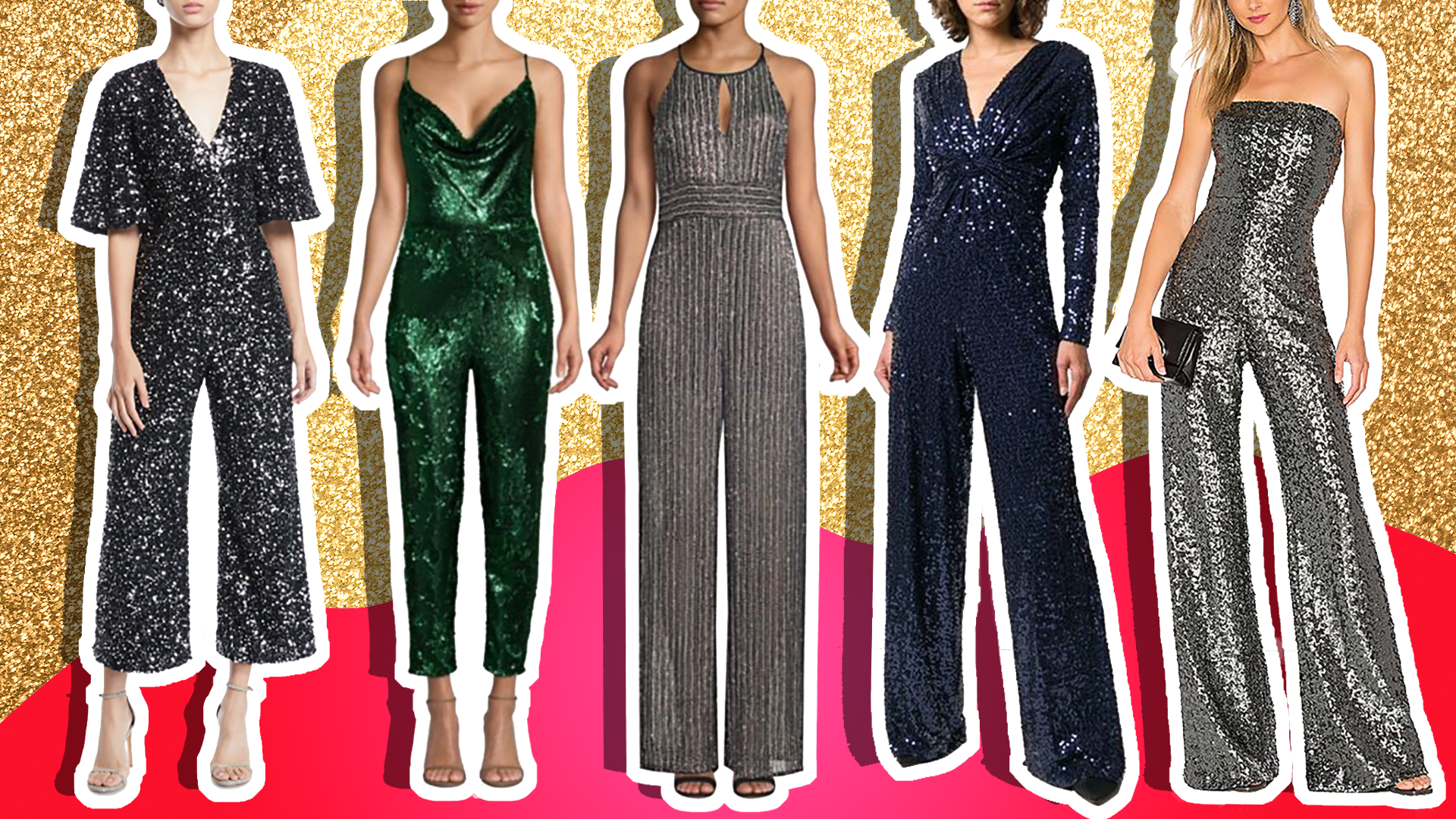 How To Wear Sparkly Jumpsuit