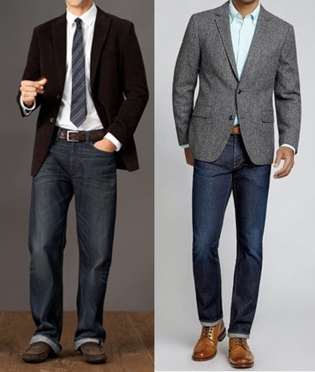 How To Wear Sport Coat With Jeans