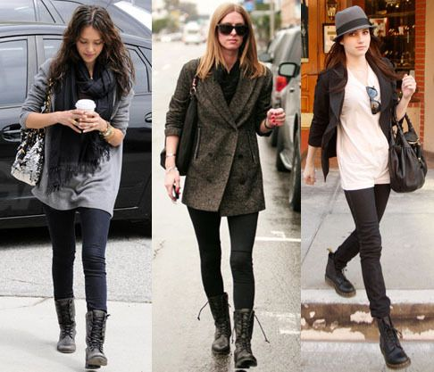 How To Wear Studded Combat Boots