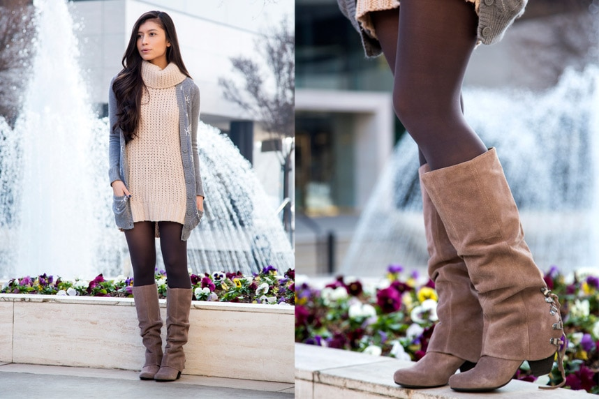 How To Wear Suede Boots