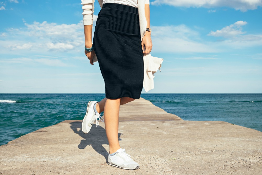 How To Wear Travel Skirt