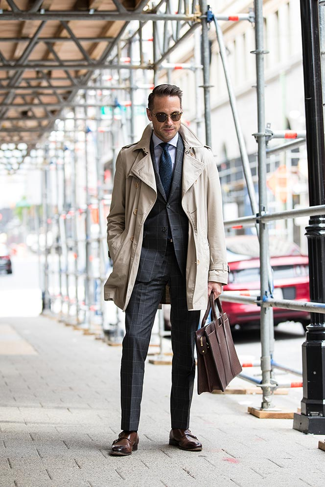 How To Wear Trench Coat