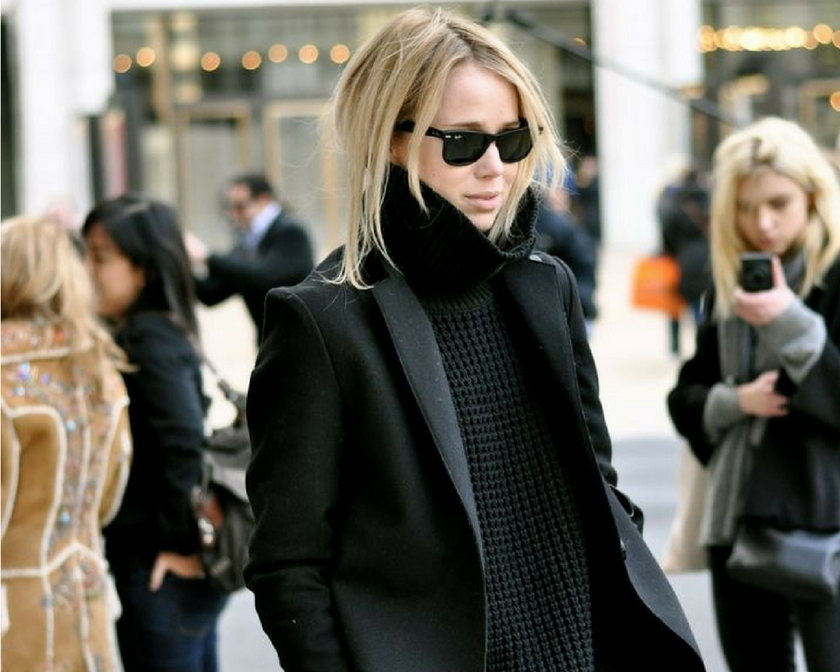 How To Wear Turtleneck Tunic