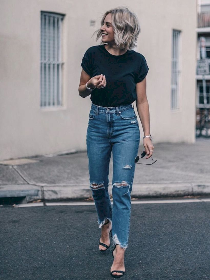 How To Wear Vintage High Waisted Jeans