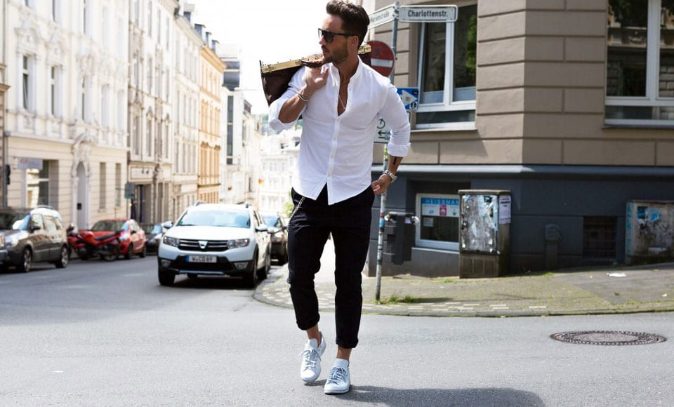 How To Wear White Leather Shoes