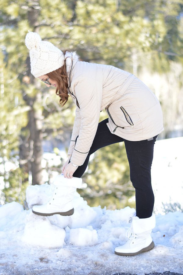 How To Wear White Snow Boots
