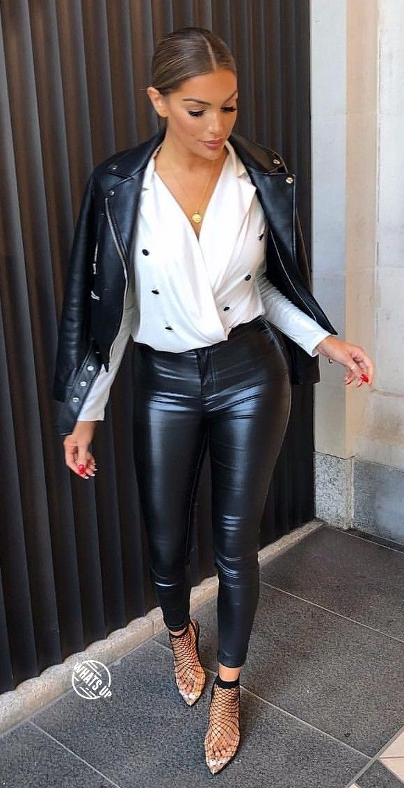 Leather On Leather Outfits