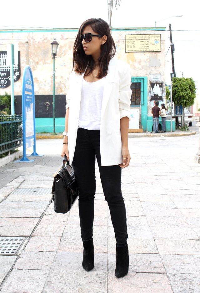Long Blazer Outfit Ideas