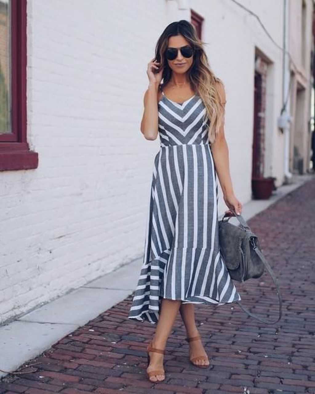 Maxi Cotton Dress Outfit Ideas