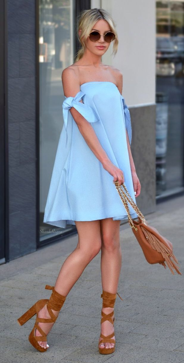 Off The Shoulder Dress Best Outfit Ideas