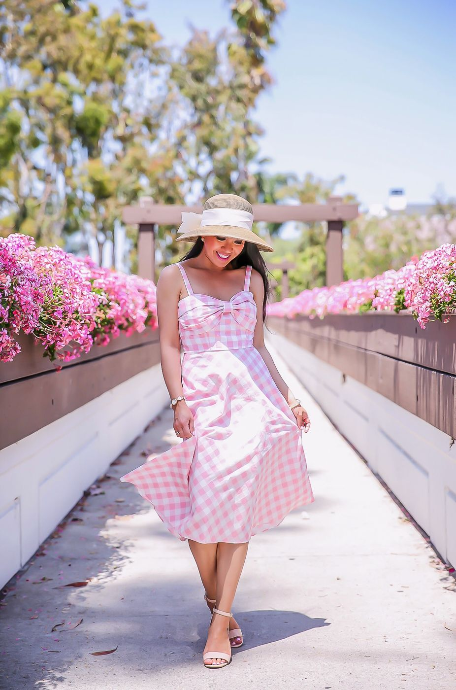 Pink Sundress Outfit Ideas
