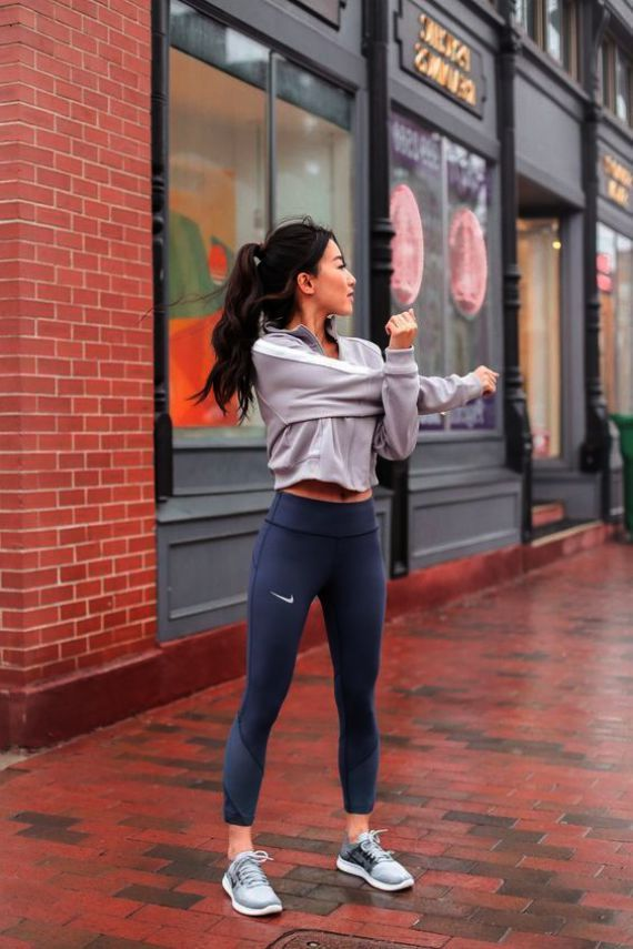 Running Leggings Outfit Ideas