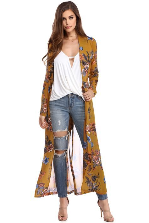 Sheer Cardigan Outfit Ideas