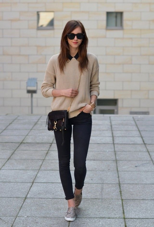 Slip On Shoes Outfit Ideas