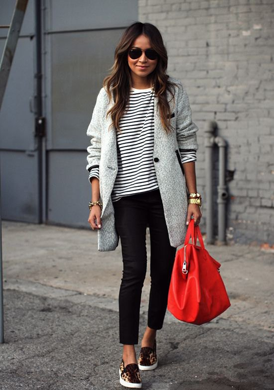 Slip On Walking Shoes Outfit Ideas