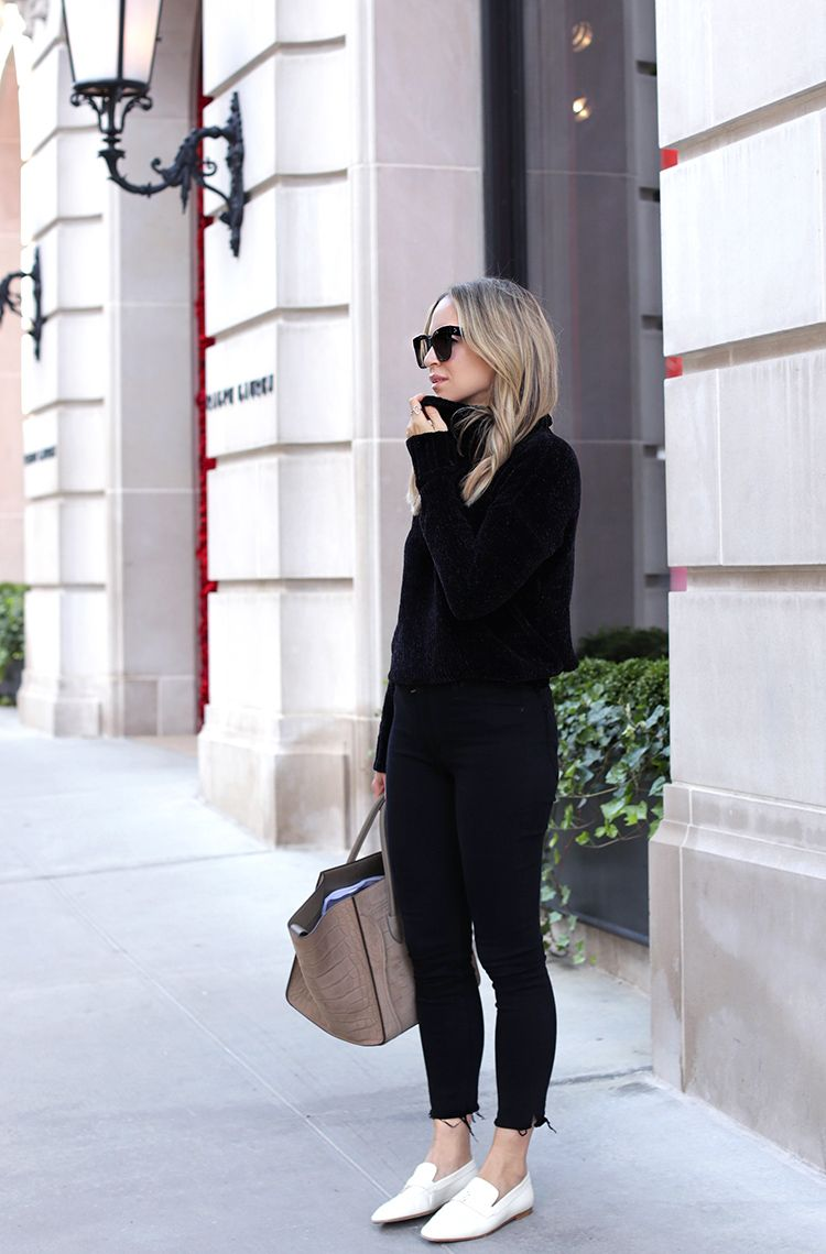 Spiked Loafers Outfit Ideas
