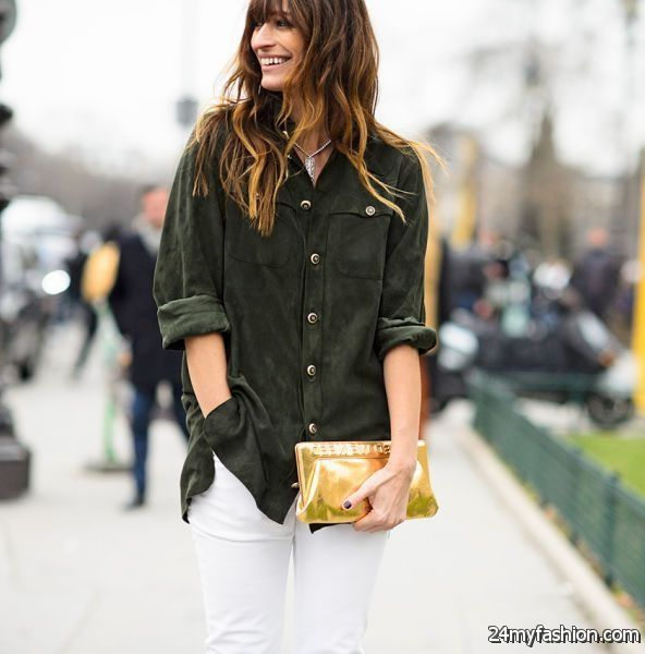 Suede Shirt Outfit Ideas
