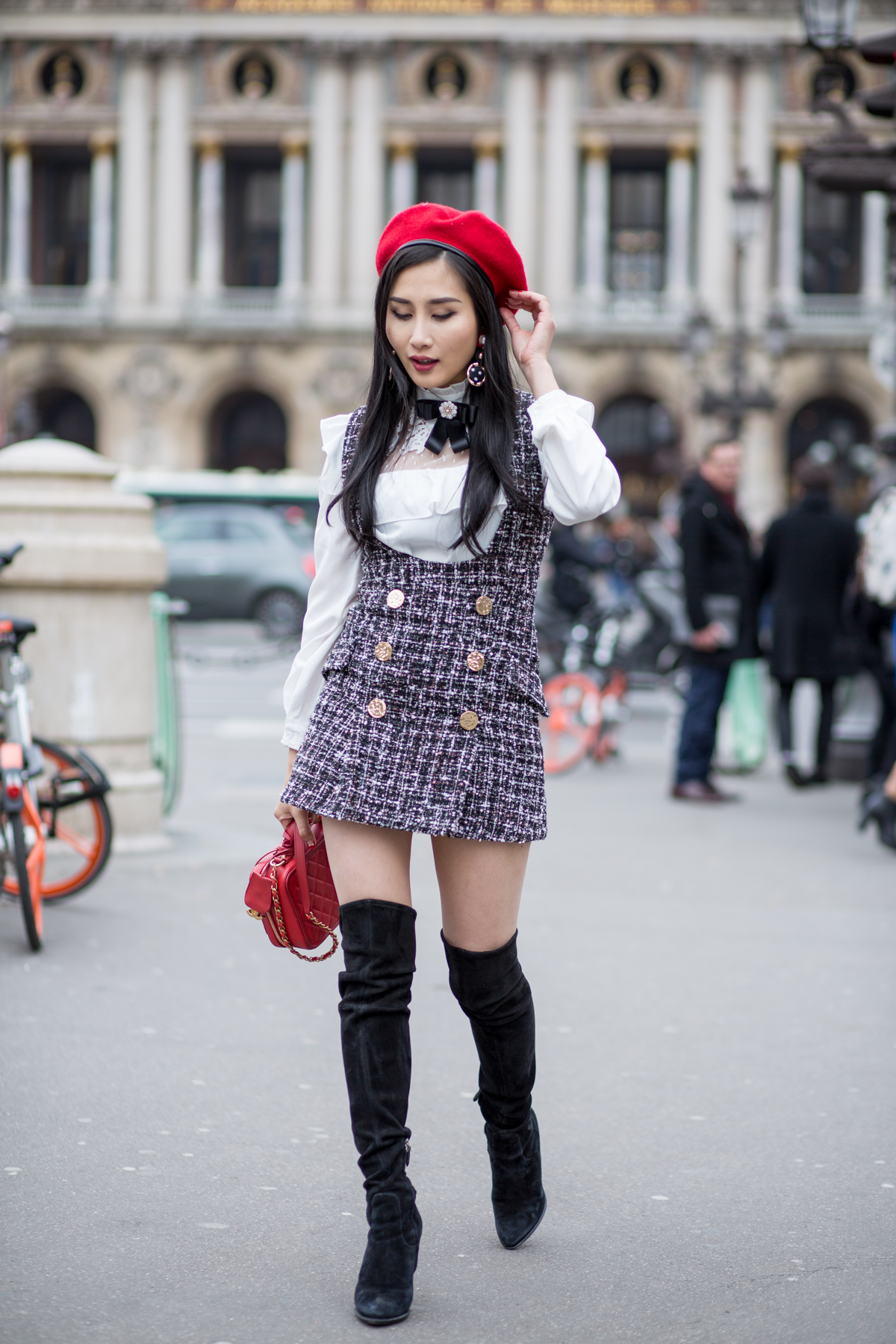 Tweed Dress Outfits