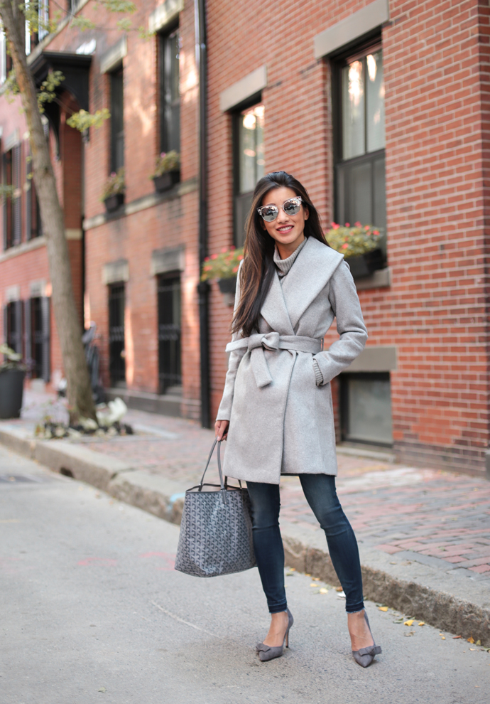 Wool Wrap Coat Outfits