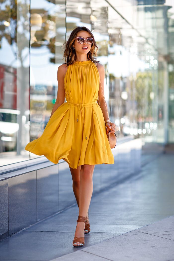Yellow Sundress Outfit Ideas